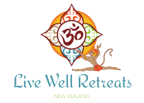 LiveWellRetreats.co.nz Logo